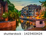 Cambridge City Water Canal At...