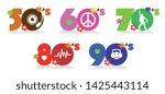 music of fifties  sixties ... | Shutterstock .eps vector #1425443114