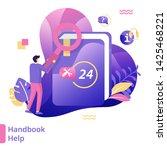 flat illustration handbook help ...