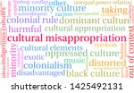 cultural misappropriation word... | Shutterstock .eps vector #1425492131