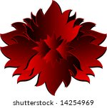 vector illustration of a bloody ... | Shutterstock .eps vector #14254969