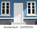 colorful house | Shutterstock . vector #142555531