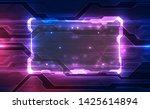 vector abstract futuristic... | Shutterstock .eps vector #1425614894