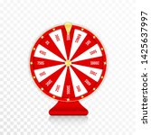 wheel of fortune  spinning... | Shutterstock .eps vector #1425637997