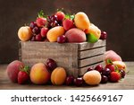 close up of fresh ripe fruits... | Shutterstock . vector #1425669167