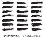 grunge brush strokes. set of...   Shutterstock .eps vector #1425803411