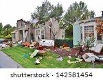 Tornado House Destruction