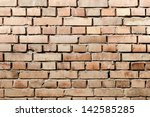 red brick wall | Shutterstock . vector #142585285
