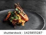 Food Fish Elegant Gourmet Blac...