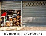 miscellaneous street shop...   Shutterstock . vector #1425935741
