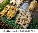 delicious grilled squid at... | Shutterstock . vector #1425949241