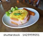 breakfast homemade small... | Shutterstock . vector #1425959051