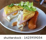 breakfast homemade small... | Shutterstock . vector #1425959054