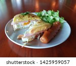 breakfast homemade small... | Shutterstock . vector #1425959057