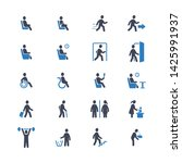 people  pictogram  person  sign ... | Shutterstock .eps vector #1425991937