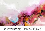 abstract colorful oil  acrylic...   Shutterstock . vector #1426011677