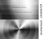 vector illustration of brushed... | Shutterstock .eps vector #142606729