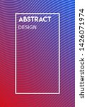 abstract design wallpaper... | Shutterstock .eps vector #1426071974