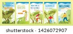 mobile stories summer set with... | Shutterstock .eps vector #1426072907