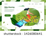 vector illustration   bicycle...   Shutterstock .eps vector #1426080641