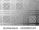 black and white relief convex... | Shutterstock . vector #1426082144