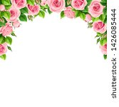 vector background frame with... | Shutterstock .eps vector #1426085444