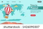 balloon air travel adventure... | Shutterstock .eps vector #1426090307