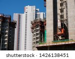 housing and construction in... | Shutterstock . vector #1426138451