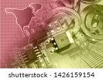 abstract computer background...   Shutterstock . vector #1426159154