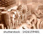 abstract computer background...   Shutterstock . vector #1426159481