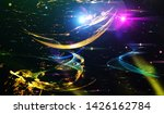explosion of stars in space....   Shutterstock . vector #1426162784
