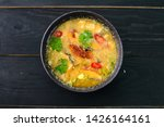 Stock photo tom yam kong or tom yum tom yam is a spicy clear soup typical in thailand thai dish cuisine tom 1426164161