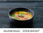 Stock photo tom yam kong or tom yum tom yam is a spicy clear soup typical in thailand thai dish cuisine tom 1426164167