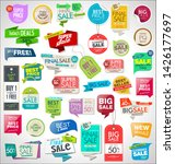 collection of colorful sale... | Shutterstock . vector #1426177697