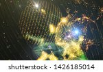 explosion of stars in space....   Shutterstock . vector #1426185014