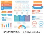 infographic elements   steps... | Shutterstock .eps vector #1426188167