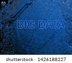 abstract close up of mainboard...   Shutterstock . vector #1426188227