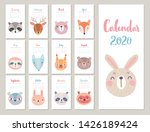woodland characters    bear ... | Shutterstock .eps vector #1426189424