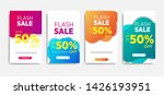 sale banner template with... | Shutterstock .eps vector #1426193951