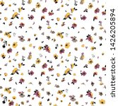 cute floral pattern of small... | Shutterstock .eps vector #1426205894