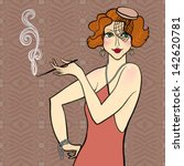 vector illustration of a... | Shutterstock .eps vector #142620781
