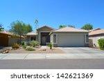new southwestern style arizona... | Shutterstock . vector #142621369