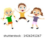 eps10 vector file showing happy ...   Shutterstock .eps vector #1426241267