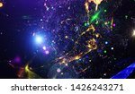 explosion of stars in space....   Shutterstock . vector #1426243271