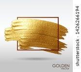 golden grunge texture in a... | Shutterstock .eps vector #1426266194