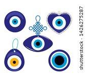 Turkish Traditional Set Of Blue ...