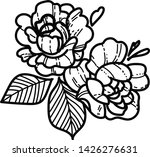 line art and sketch black... | Shutterstock . vector #1426276631