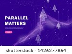 the future of parallel metters...   Shutterstock .eps vector #1426277864