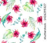 watercolor seamless ornament....   Shutterstock . vector #1426295327