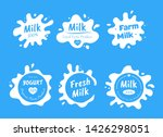 set of various isolated... | Shutterstock .eps vector #1426298051